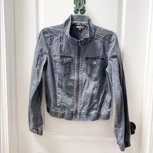 Rubbish bomber jacket